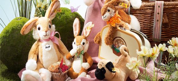 Steiff rabbits