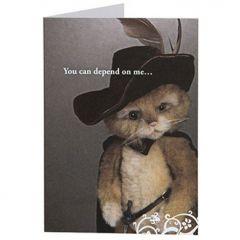 Charlie Bears card En Garde