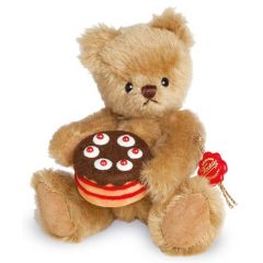 Teddy Herman Little bear with Cake 156093