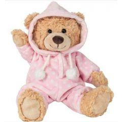 Hermann Teddy 913863 Teddybeer in roze pyjama