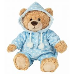 Hermann Teddy 913870 Bear in Pyjamas blue