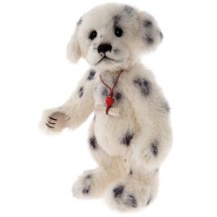 Charlie Bears dog Polka Dot