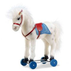 Steiff Olivia Horse on wheels EAN 006814