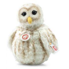 Steiff EAN 006944 Snowy Owl roly poly