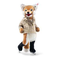 Steiff EAN 007071 fox ice skater