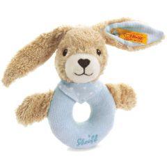 Steiff Hoppel konijn rammelaar blauw EAN 237522