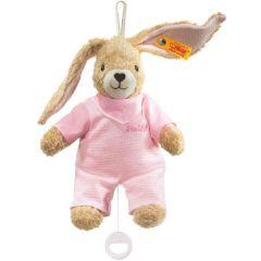 Steiff Hoppel konijn met speeldoos EAN 237584