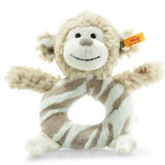 Steiff 241871 Bingo monkey rattle