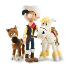 Steiff Lucky Luke Set EAN 674662 + 674617 + 674730