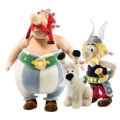 Steiff Asterix, Idefix en Obelix set