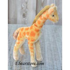 Steiff giraffe 28 cm.