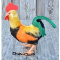 Steiff Rooster 28 cm.