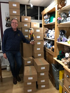 Steiff Lucky Luke delivery at Ebearstore