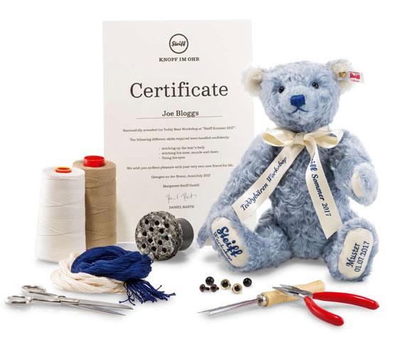 Steiff Masterclass teddyberen maken